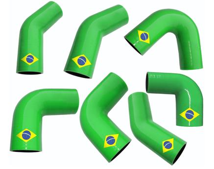 Brazil logo silicone hoses