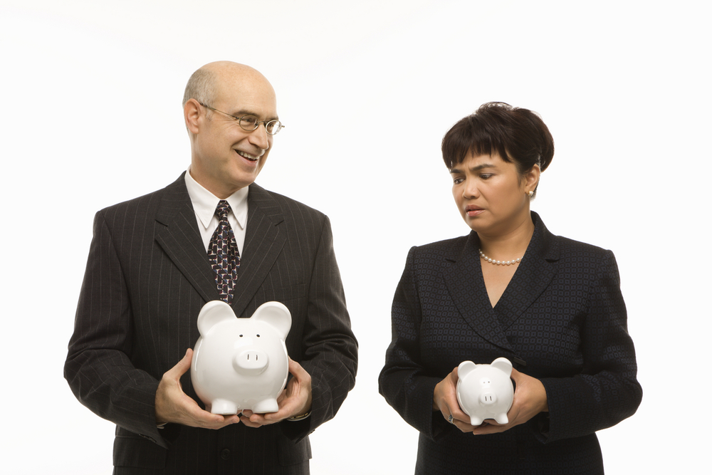 gender pay gap accountants