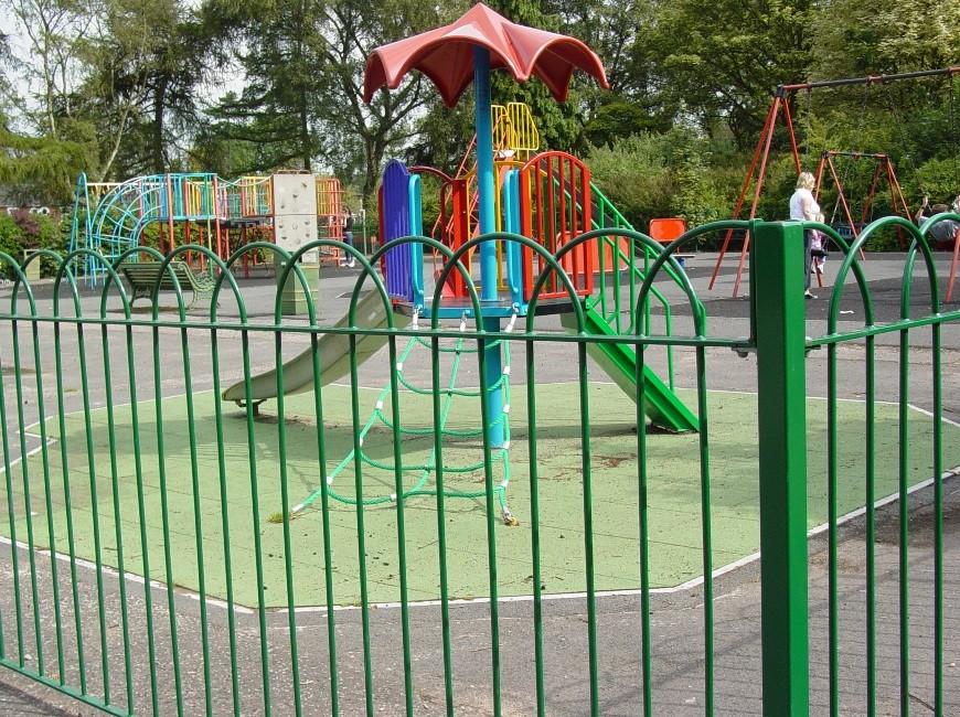 playground fencing