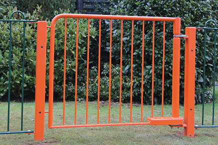 self closing gates